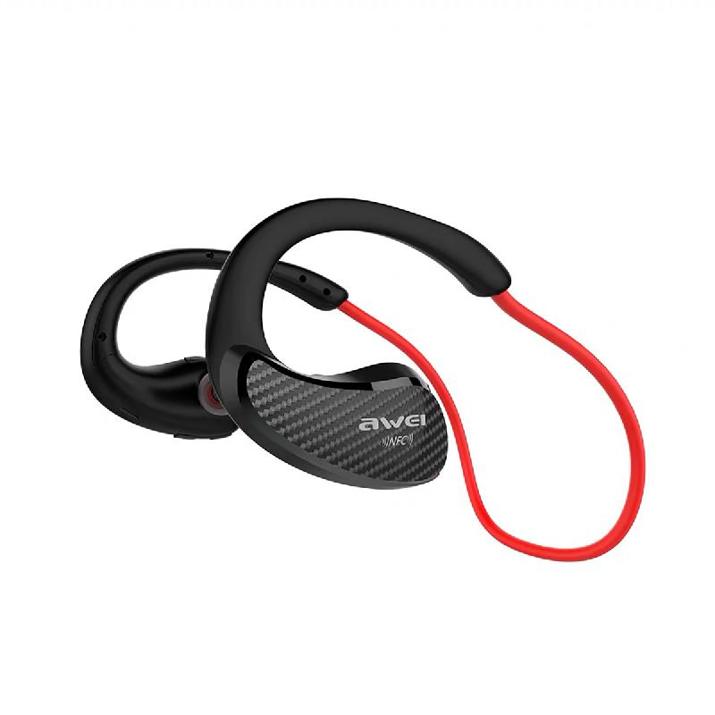 Ecouteurs Bluetooth A881 Rouge